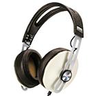 Sennheiser Momentum 2 Lifestyle Around-Ear Hifi Headphones (iOS, Ivory)
