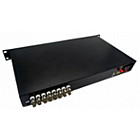 Beneston AT-FB16TX/RX 16-channel AHD / CVI / TVI / Analog Fiber-Optic Converter (Transmitter and Receiver)