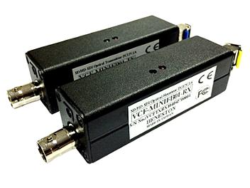 Beneston VCF-HMINIFB01TX/RX SD / HD / 3G-SDI Fiber Optic Converter (Transmitter and Receiver)