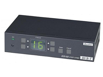 Globalmediapro SHE HE05C HDMI Coaxial Extender (Transmitter and Receiver)