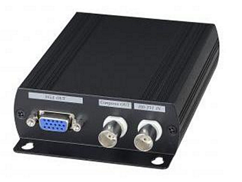 Globalmediapro SHE AD001TVI HD-TVI to HDMI/VGA/Composite Video Converter