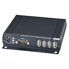Globalmediapro SHE HKM01BR HDMI CAT5 Receiver with IR, KVM, USB, RS232