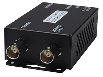 Globalmediapro SHE AD001HD1 HD-TVI / AHD / HD-CVI to CVBS Converter with Built in Loop Out
