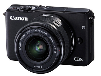Canon EOS M10 Mirrorless Digital Camera with EF-M 15-45mm IS STM Lens