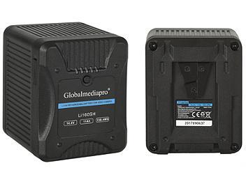 Globalmediapro Li160SH V-Mount Li-ion Battery 158Wh for Red Camera