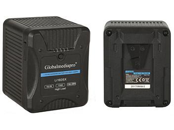 Globalmediapro Li160SX V-Mount Li-ion Battery 158Wh for Red Camera
