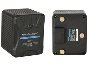 Globalmediapro Li250AX Gold Mount Li-ion Battery 247Wh