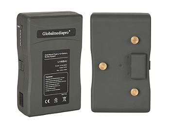 Globalmediapro Li190BAU Gold Mount Li-ion Buddy Battery System 192Wh