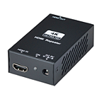 Globalmediapro SHE HR01-4K6G 4K HDMI 2.0 Repeater with External Power Adapter