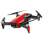 DJI Mavic Air Quadcopter Fly More Combo (Red)