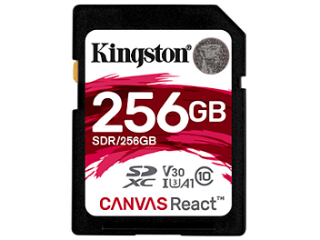 Kingston 256GB UHS-1 SDXC Memory Card (Class 10) 100MB/s